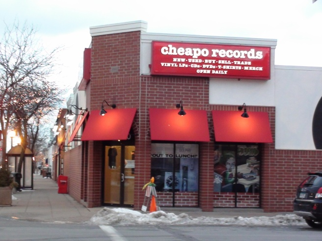 minneapolis - cheapo records